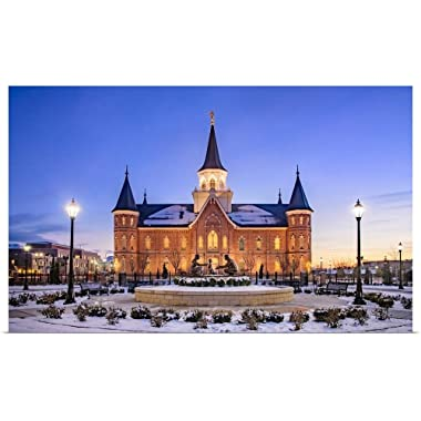 Great Big Canvas Poster Print Entitled Provo City Center Temple, North Side, Provo, Utah Scott Jarvie 60 x37