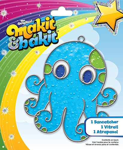 - Colorbok Makit and Bakit Suncatcher Kit, Octopus