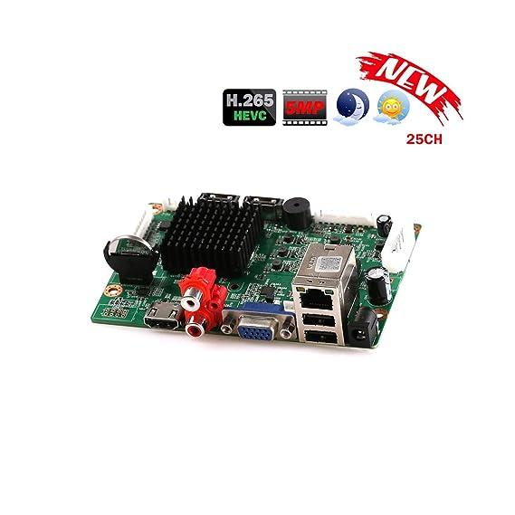 Amazon com: 32Ch 1080P CCTV Nvr Board Hi3536 2 Sata Ports Onvif