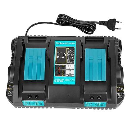 opson dc18rd Dual Port cargador 4.0 A 7.2 V ~ 18 V Cargador ...