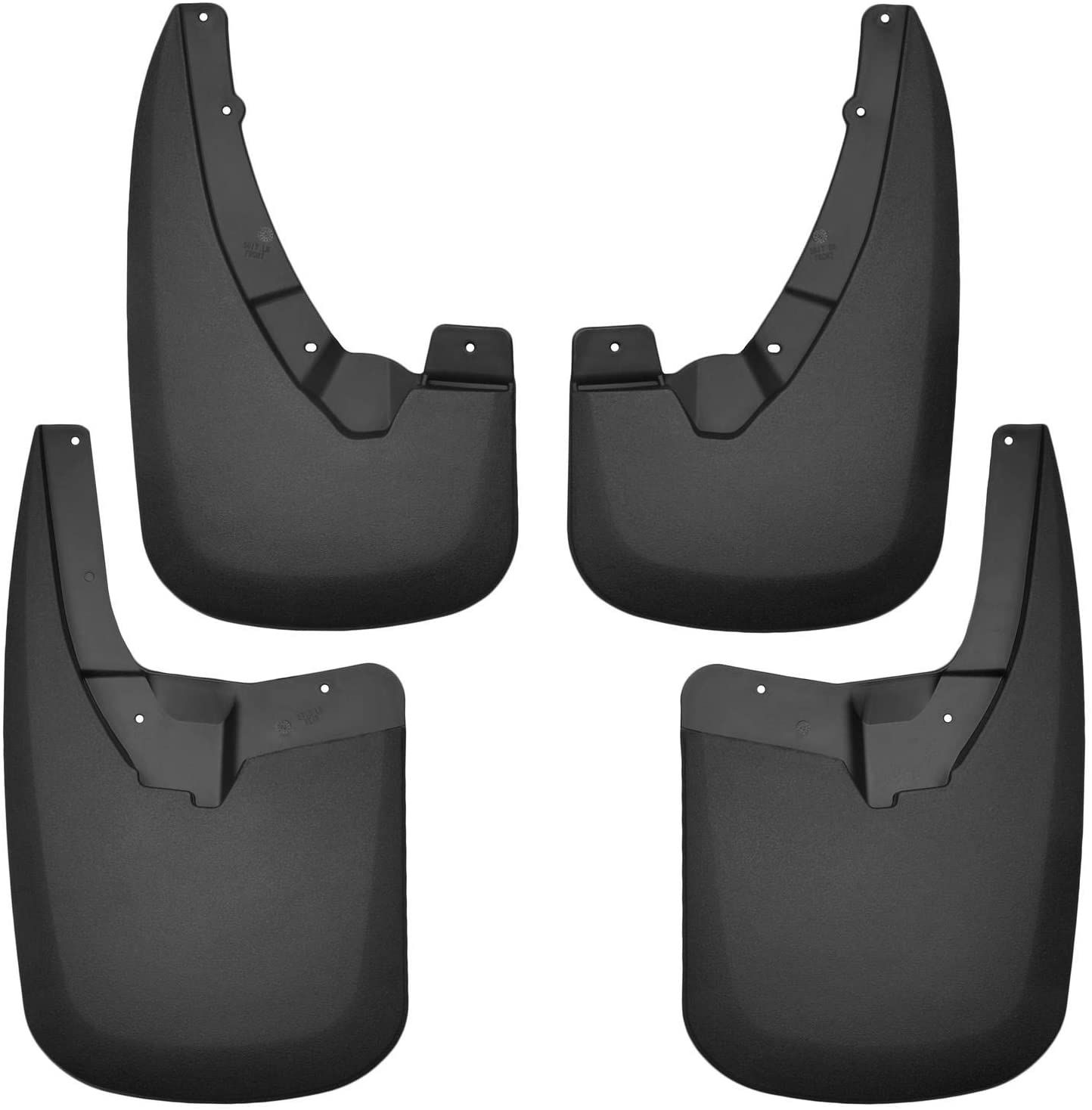 57211 Husky Liners Mud Flaps Set of 2 Rear Driver /& Passenger Side New Pair