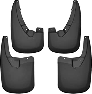 Husky Liners 17055 Black Front or Rear Mud Long John Flare Flaps 15IN Wide-36IN Length-Universal