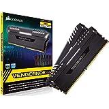 CORSAIR DDR4-3000MHz デスクトップPC用 メモリモジュール VENGEANCE RGB シリーズ 32GB [16GB×2枚] CMR32GX4M2D3000C16