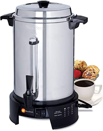 58015 V comercial 55 taza cafetera de aluminio (internacional uso sólo) por mesa King: Amazon.es: Hogar
