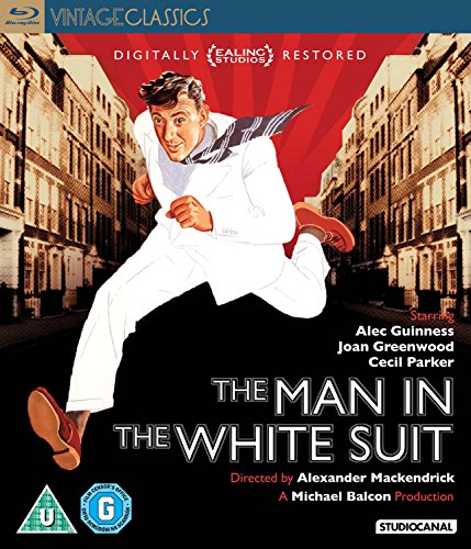 The Man in the White Suit ( El hombre del traje blanco ) [ NON-USA FORMAT, Blu-Ray, Reg.B Import - United Kingdom - Traje In English
