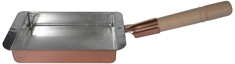 丸新銅器 銅製 関西型 玉子焼き 27cm   B00H4PTSWU