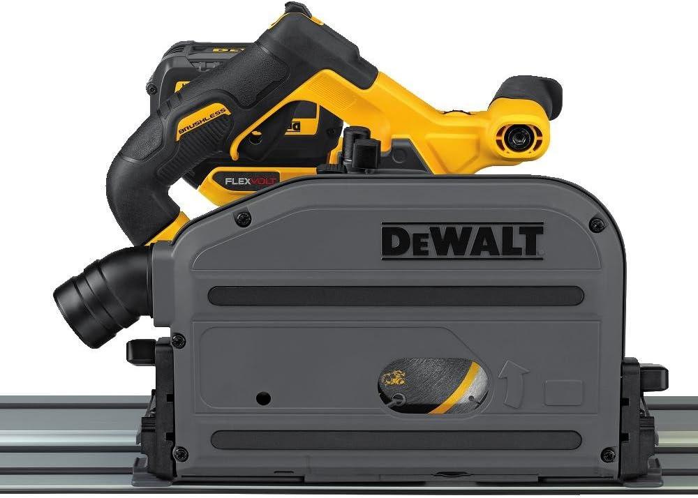 7. Dewalt DCS520T1 Flexvolt 60V Max 6-1/2-Inch Cordless Track Saw Kit