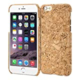iPhone 6s Case, GMYLE Snap Cover Wood Skin for iPhone 6 / 6s - Cork Board Slim Hard Back Case