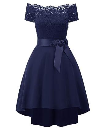 Vestido de ceremonia azul