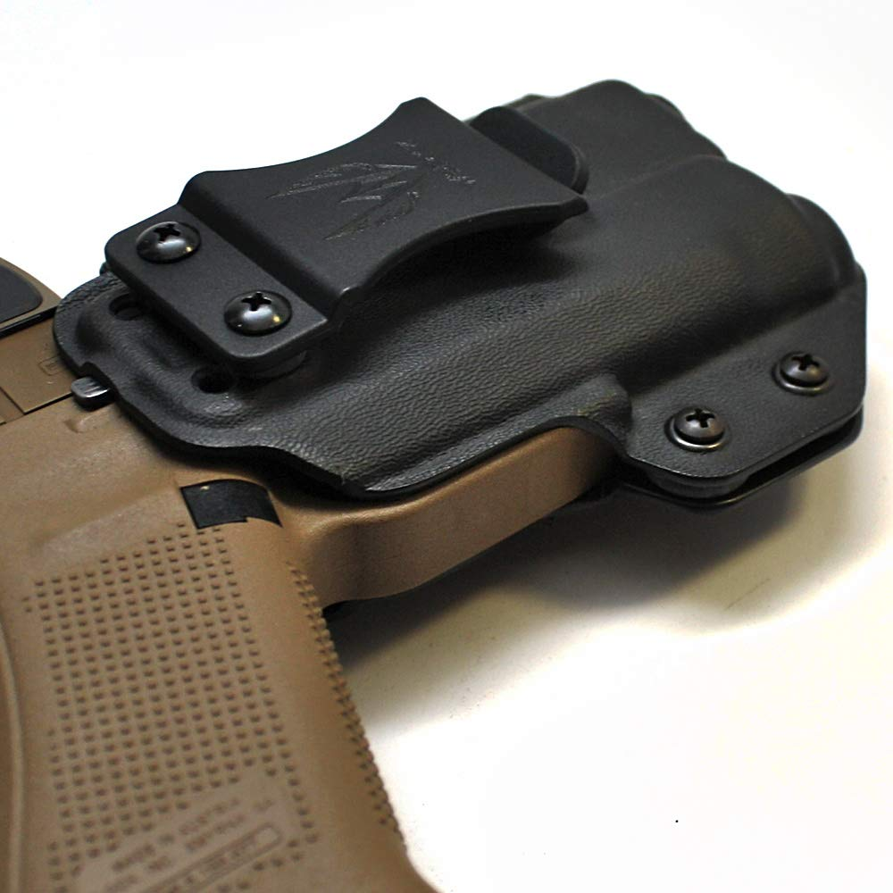 Amazon.com : Werkz M2 Holster for Glock 19 / 19x / 23/32 / 45 (Gen3/Gen4/Gen5) with Inforce APLc (APL Compact) : Sports & Outdoors