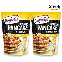 Mezcla de Harina para Pancake Banana Hazelnut - 20g Proteína - 340g - 2 Pack