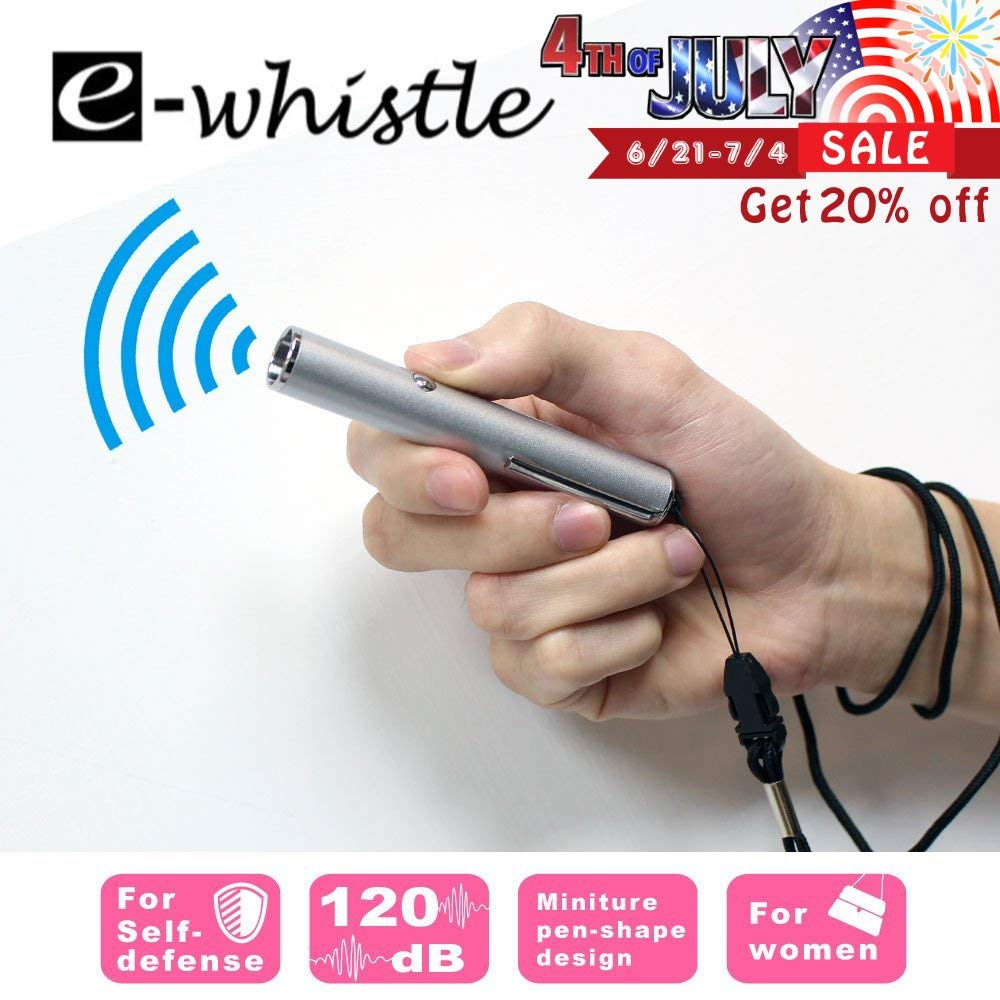 Camping Sports Activity Super Loud Up to 120dB for Hiking Self Defence e-whistle Electronic Whistle