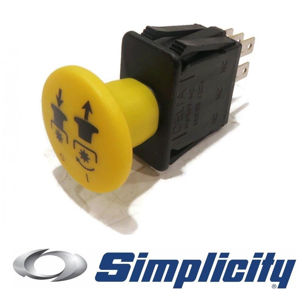 The ROP Shop New Genuine OEM PTO Switch fits Simplicity ZT2352 ZT2352B ZT2352K ZT2352T ZT2354