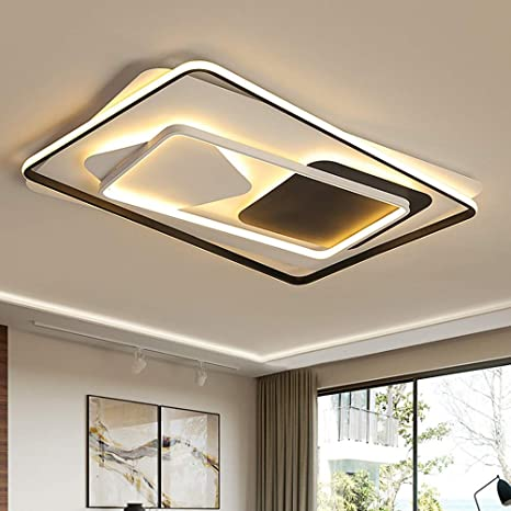 Modern Style Chic Square Led Ceiling Lights Contemporary