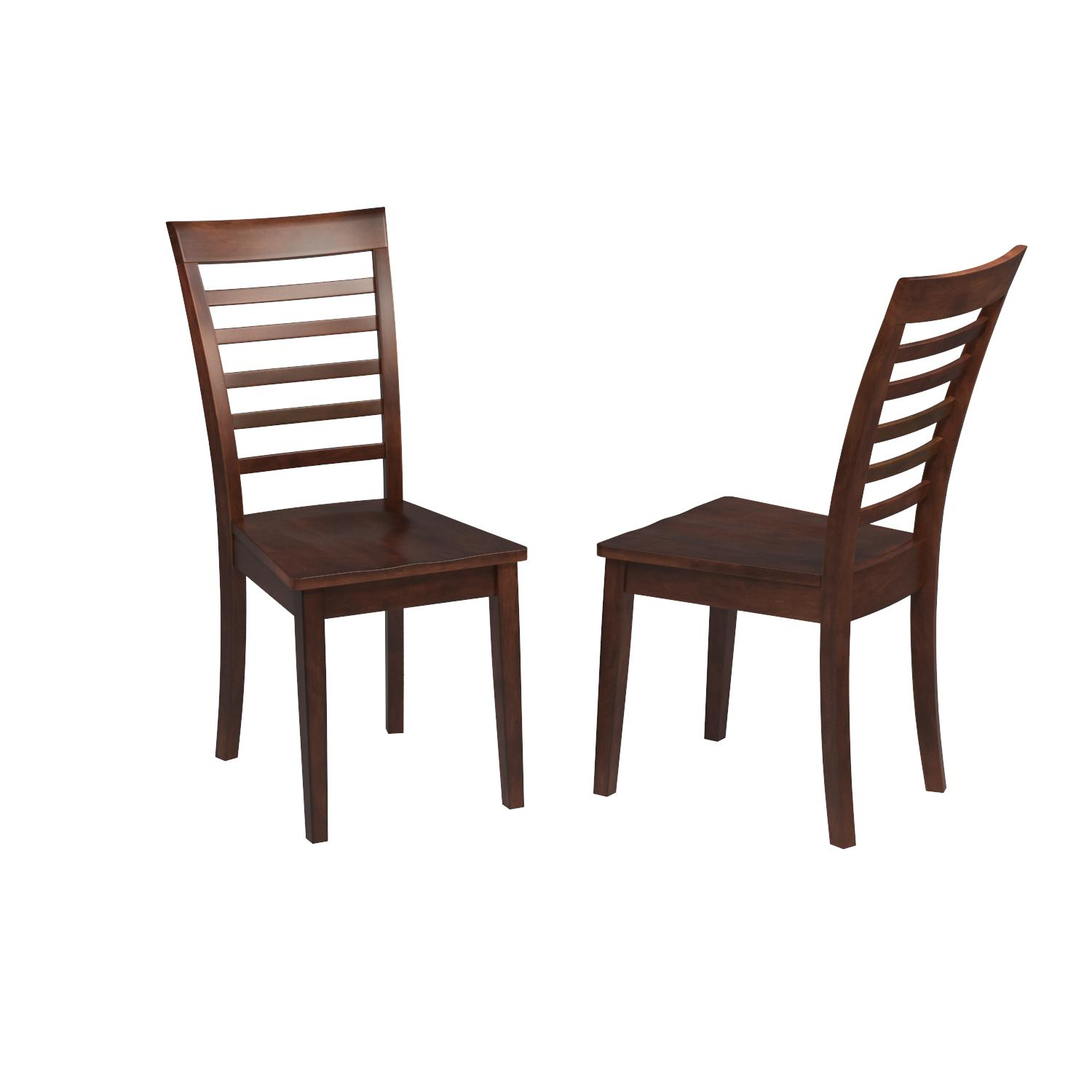 Amazon East West Furniture MLC MAH W Chair Set with Wood Seat
