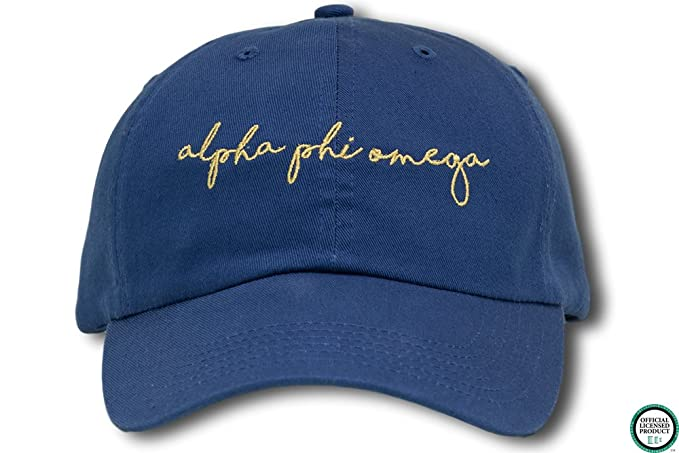 186d0b28ac8 Image Unavailable. Image not available for. Color  Alpha Phi Omega Sorority  Hat