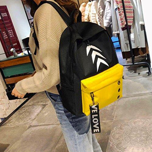 au Y56 à pour Sac dos main M femme porté yellow IA6IB