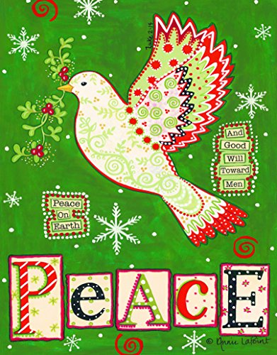 Divinity Boutique Boxed Cards Boxed Christmas Cards: Peace Dove (23015N)