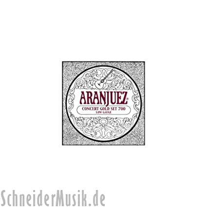 Aranjuez Classical Guitar A700 Concert Gold (Low Tension)
