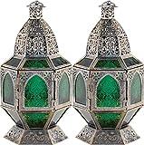 ROX Luxury House 2 Hanging Moroccan Style Lantern Candleholder Wedding Centerpieces