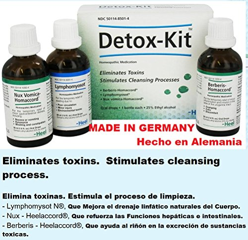 BATCURE Detox Kit Mejora La Salud 100% Natural Made in Germany Hecho en Alemania