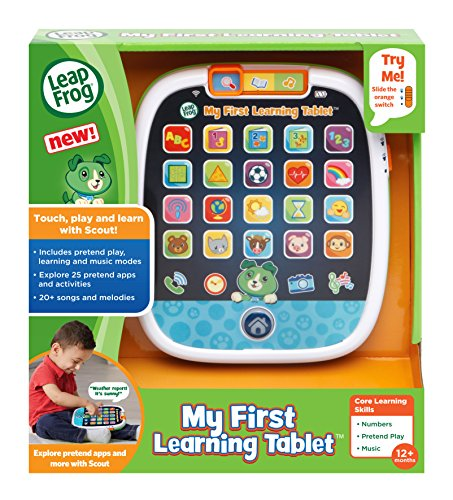 61pbsxZF6uL - LeapFrog My First Learning Tablet, Black