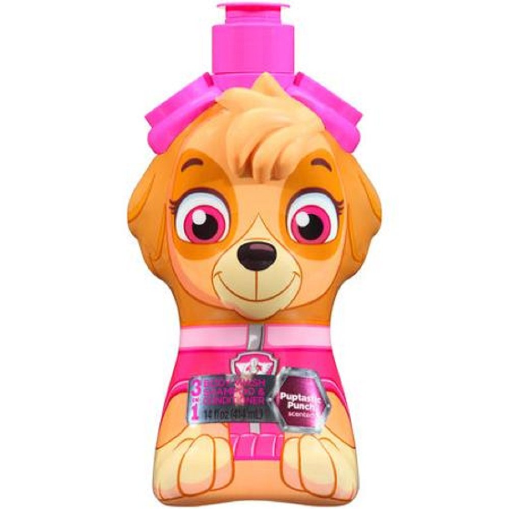 Paw Patrol Skye Puptastic Punch 3 in 1 Shampoo Conditioner Body Wash