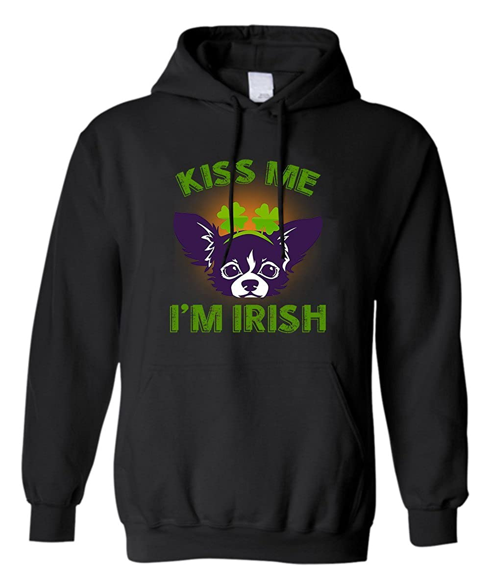 z-candy Irish St.Patricks Day Hoodie I Love My Chihuahua As Best Gift