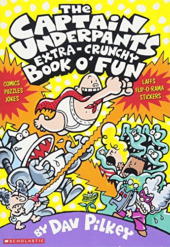 The Captain Underpants Extra-Crunchy Book o' Fun]()