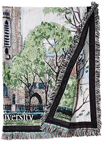 Art Tapestries NCAA Yale Bulldogs Afghan Throw Blanket, Multicolor, One Size (Blanket Dog Tapestry Throw Afghan)