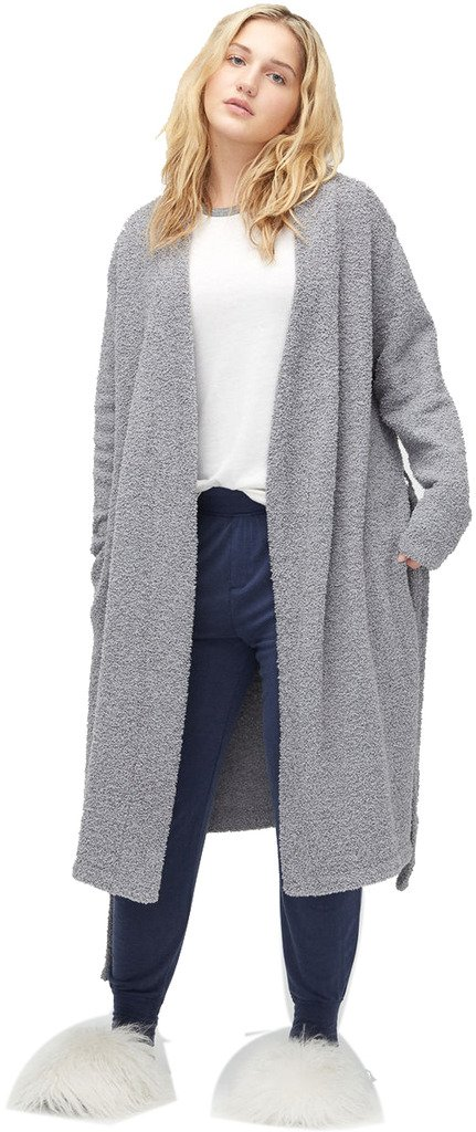UGG Womens Ana Plus Robe Grey Size X-Large