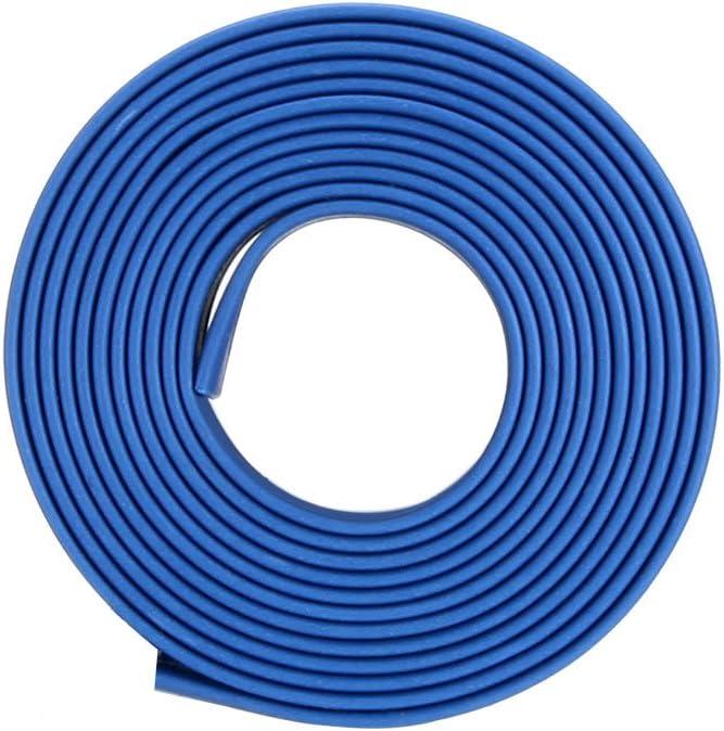 4.5mm Dia 2:1 Heat Shrink Wrap Cable Sleeve Heatshrink Tube 10m Length Blue uxcell Heat Shrink Tubing