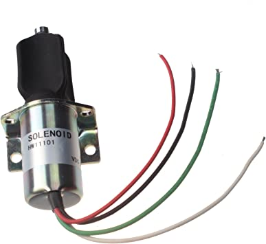 Holdwell 10138PRL Exhaust Solenoid 4 Wire for Corsa Electric Captain on