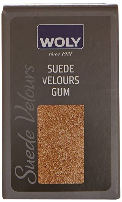 Woly Suede Velour Gum - Producto de reparación de zapatos unisex, color Neutral, talla One Size Fits All