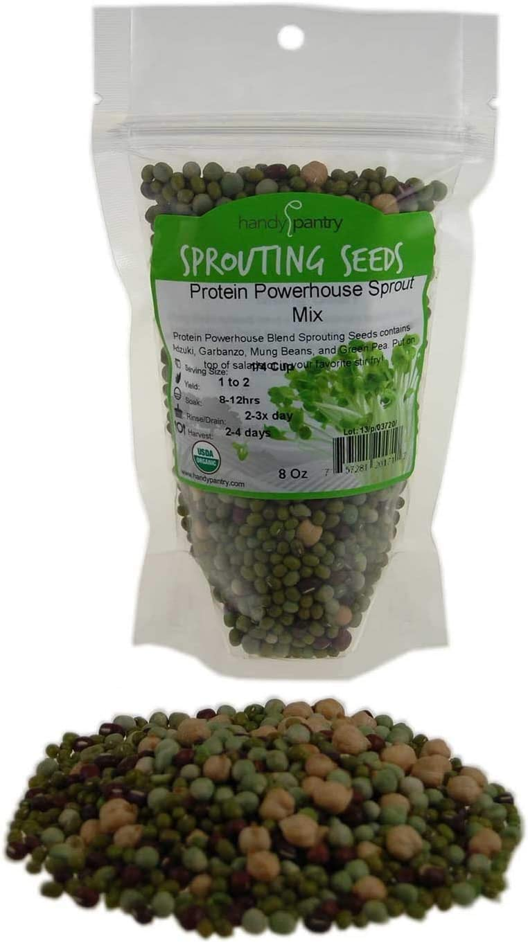 Protein Powerhouse Sprouting Seed Mix