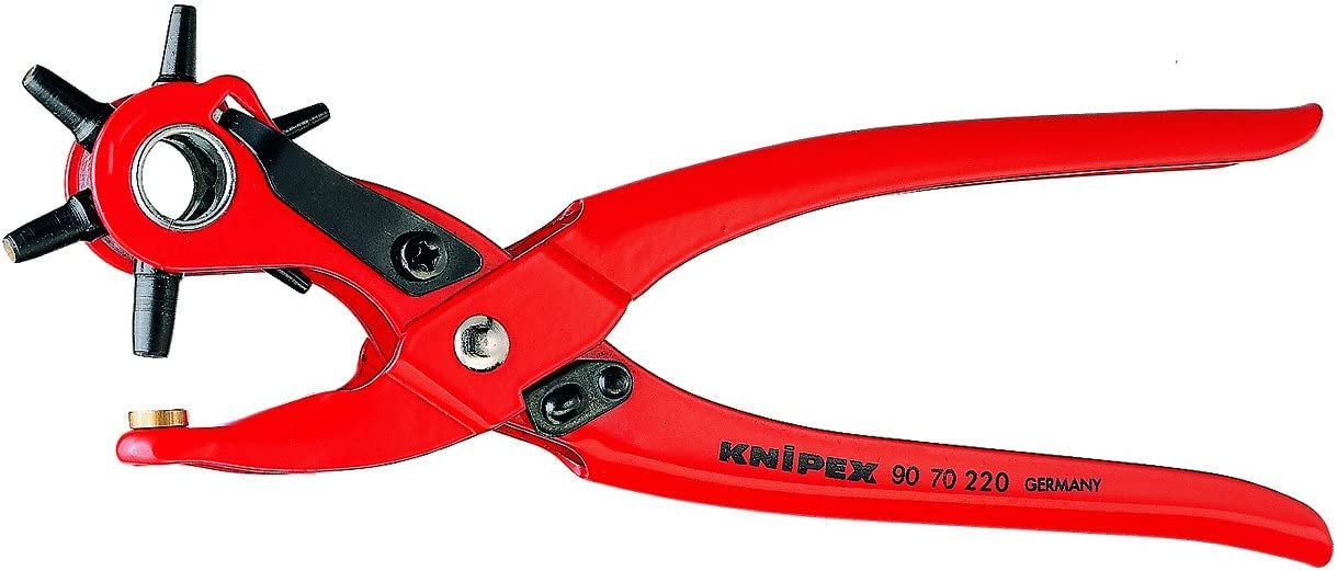 Textiles /& Industrial Covers Rapid RP03 Revolving Punch Pliers for Leather