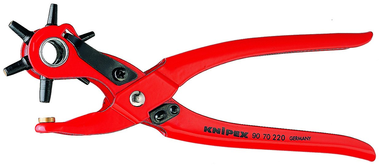 KNIPEX 90 70 220 Revolving Hole Punch Pliers Tool Knipex Tools LP