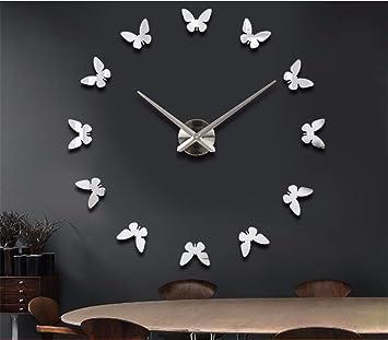 Amazoncom JinyidianShopDIY Wall ClocksWall ClockWall Sticker