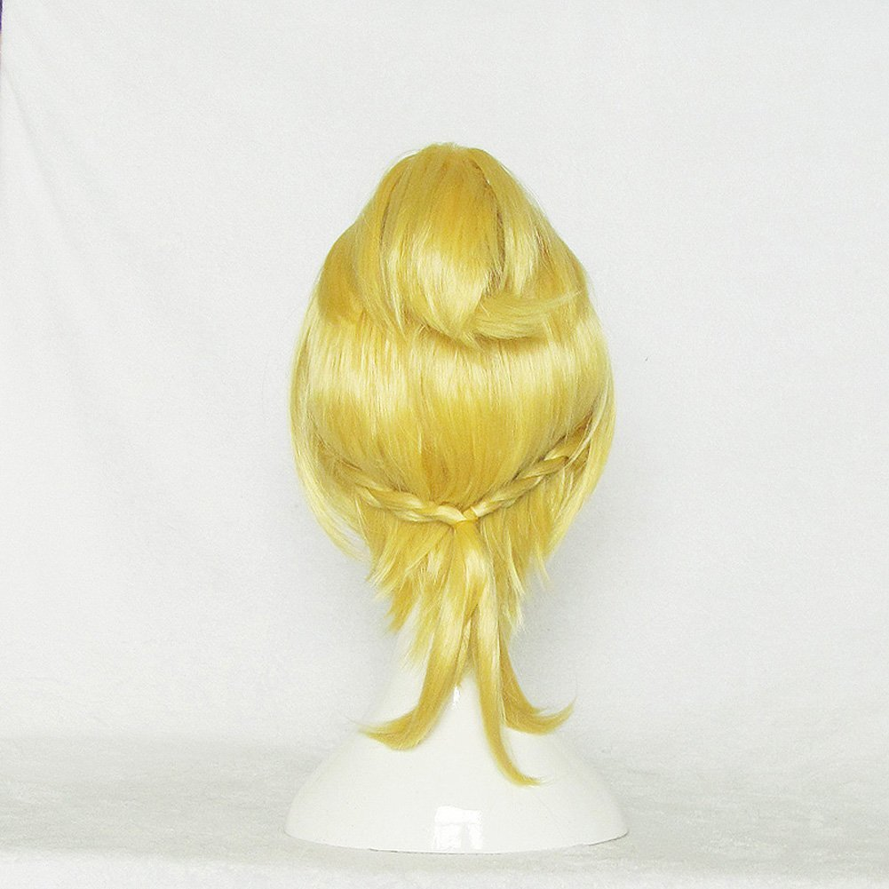 Amazon.com : Re:Zero kara Hajimeru Isekai Seikatsu Felt Gold Cosplay Party Wig : Beauty