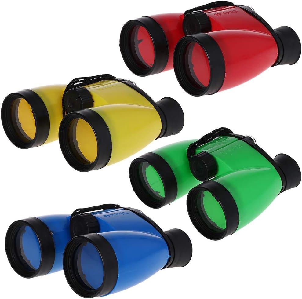Haute d/éfinition Jumelles 4 x 46 pour enfants Pour la chasse en plein air Einheitsgr/ö/ße vert