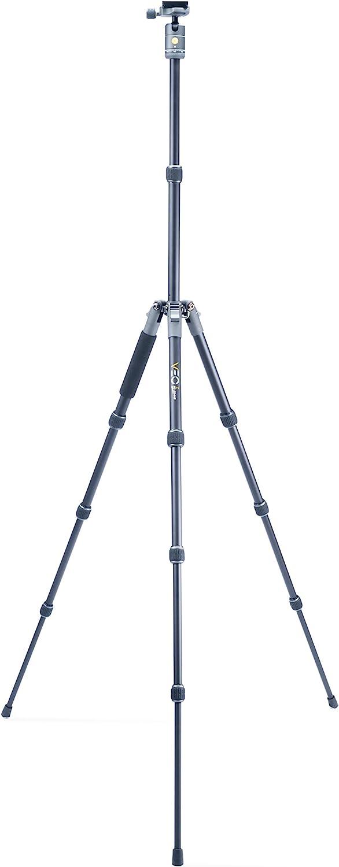 Fujifilm Mirrorless DSLR Nikon Vanguard VEO2GO265HCBM Carbon Fiber Travel Tripod with Ball Head for Sony Compact System Camera CSC Canon