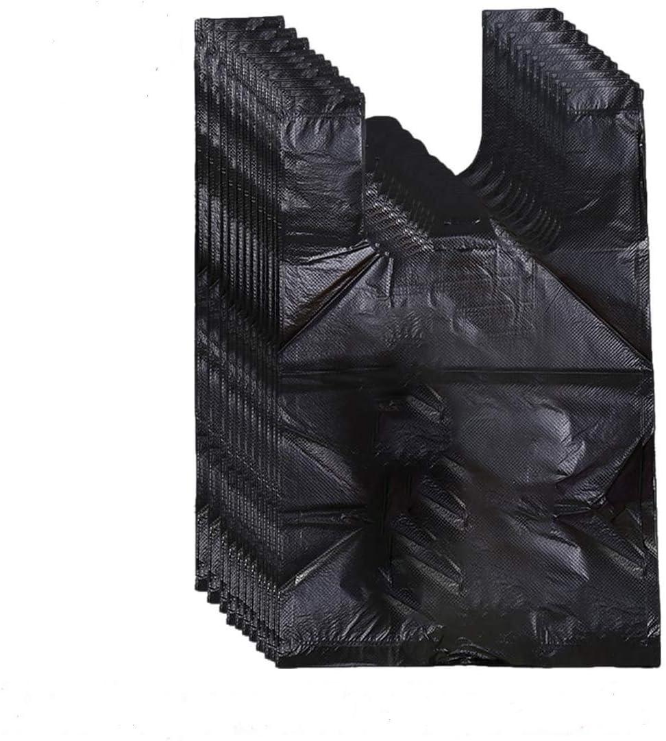 200 bolsas de servilleta sanitaria, bolsas de desecho personal para mujer para servilletas sanitarias, bolsas de basura sanitarias con asas (negro)