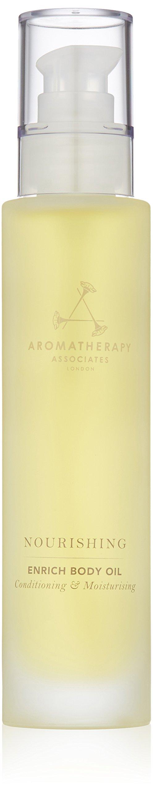 Aromatherapy Associates Nourishing Enrich Body Oil, 3.4 Fl Oz