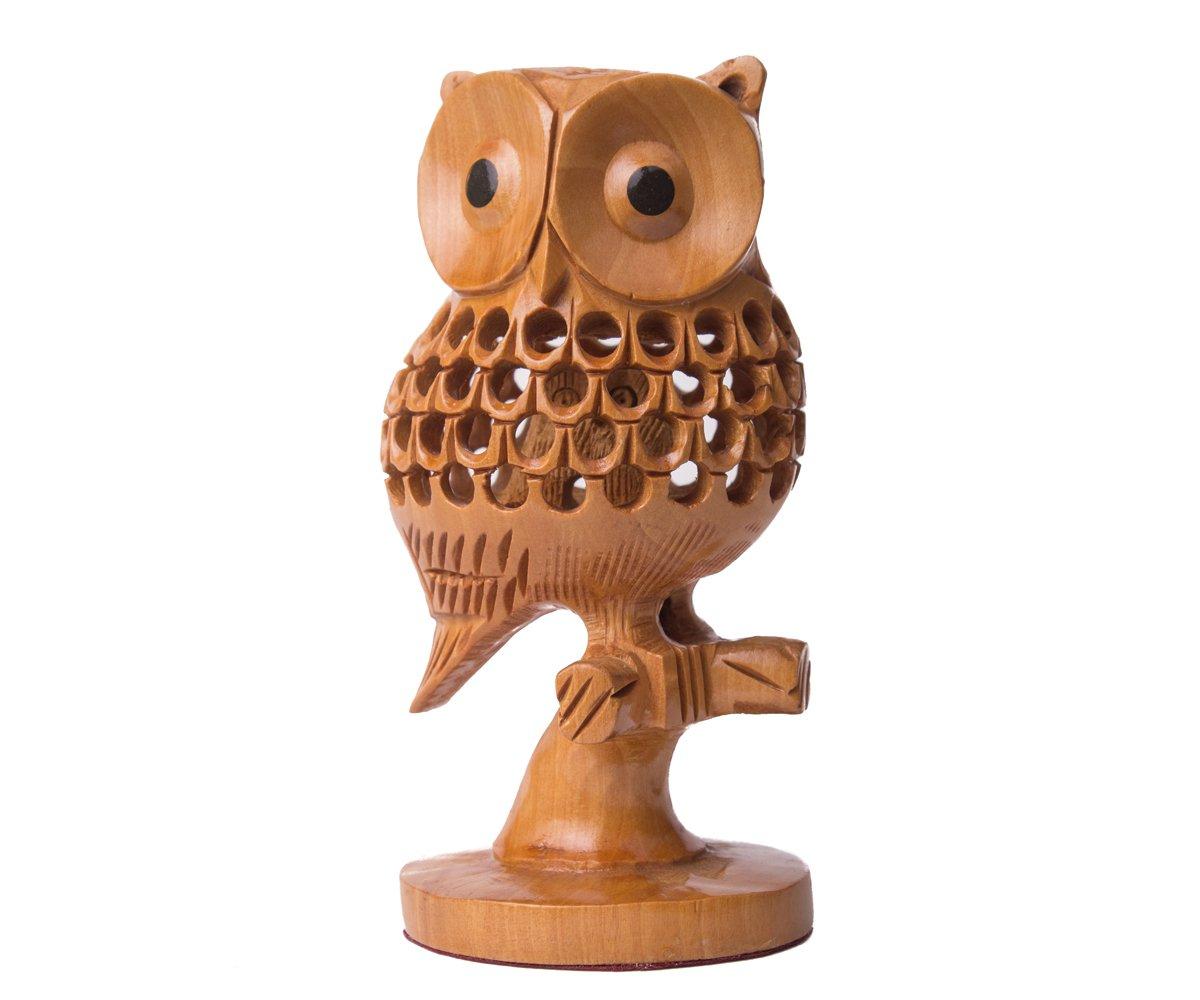 SmartHUG Wooden Elephant Figurine SH-WOODELEP100