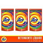 Ace Ace Uno Para Todo Detergente Líquido 700ml, 2.1lts En Total, Pack of 1