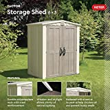Keter Factor 6x3 Outdoor Storage Shed Kit-Perfect
