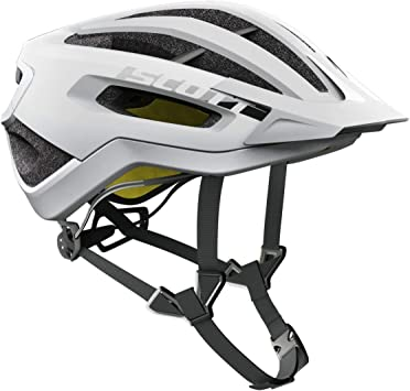 Scott Fuga Plus XC – Casco para Bicicleta de montaña Color Blanco ...
