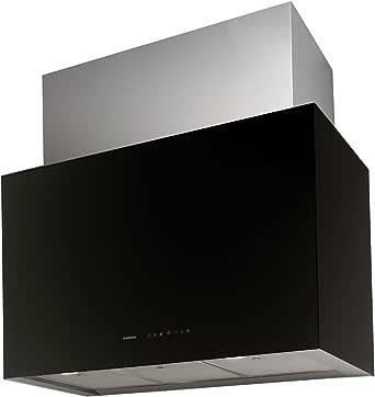 Nodor CUBE GLASS 900 De pared Negro 790m³/h - Campana (790 m³/h, Canalizado, 49 dB, 63 dB, De pared, Negro): 343.64: Amazon.es: Grandes electrodomésticos