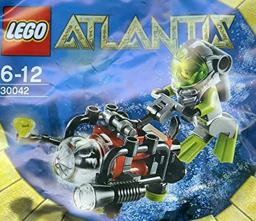 LEGO Atlantis: Mini Submarine Set 30042 (Bagged)