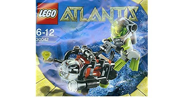 LEGO Atlantis Mini Submarine Set 30042 Bagged
